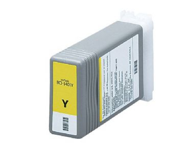 BCI-1401Y Yellow Refurbished Ink for Canon W7250 Printers
